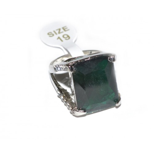 Inel Fashion Zircon Verde