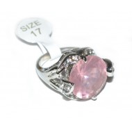 Inel Fashion Zircon PinkL
