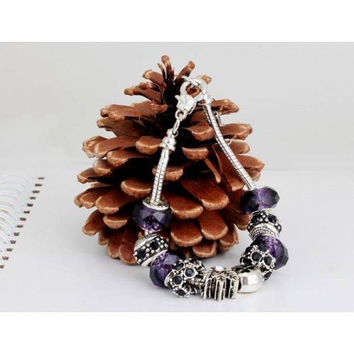 Bratara Charm Purple Pandora