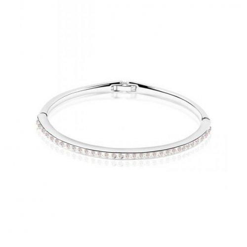 Bratara  argint cu elemente swarovski silver  cristals