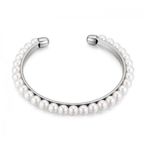 Bratara  argint femei perle misterium