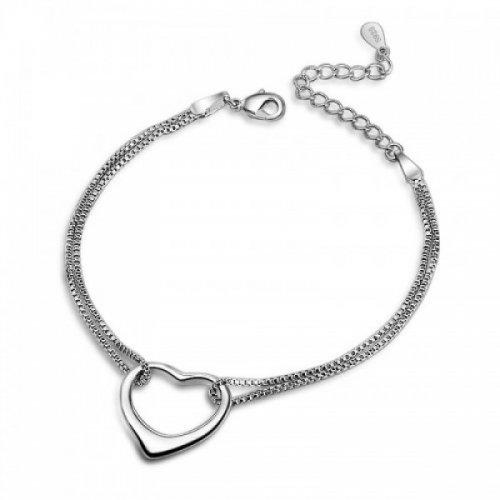 Bratara argint femei Heart Bracelet