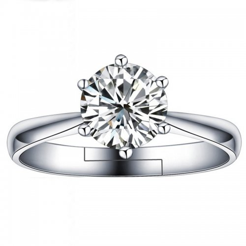 Inel  argint cu elemente swarovski queen crown 8mm reglabil