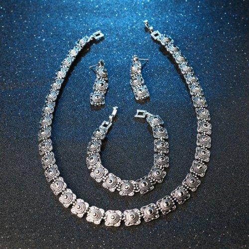Set argint femei filigram Helene
