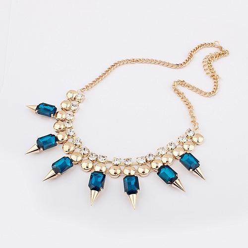 Colier Kelan Blue Luxury