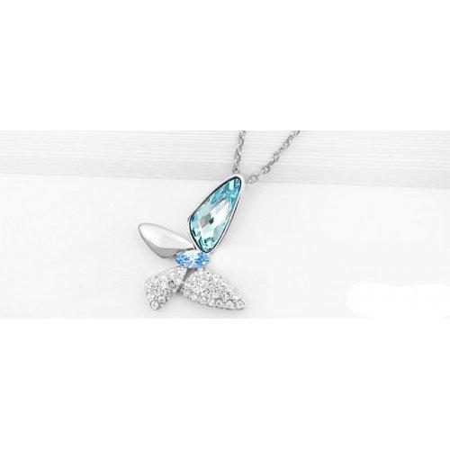 Colier Elemente Swarovski Fluture