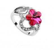 Inel Elemente  Swarovski Floare