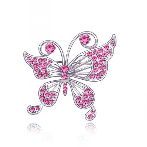 Brosa Elemente Swarovski Fluture